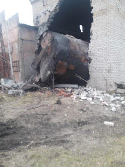 Демонтаж ёмкостей из здания в октябре 2020